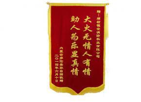 内蒙古多伦县锦旗